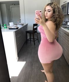 "traprapunzel: ""Pink velvet  Go to Models4members.com/model/traprapunzel to watch my private adult content and to watch me live!  "" Thick AF"