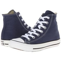 Converse Chuck Taylor All Star Core Hi Classic Shoes ($55) ❤ liked on Polyvore featuring shoes, sneakers, canvas high top sneakers, all star sneakers, high top sneakers and converse sneakers