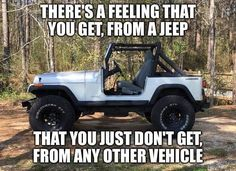 yes it's that high center of gravity that makes you shit your pants on a tight curve. bravo YJ, keep making people scared for their lives.