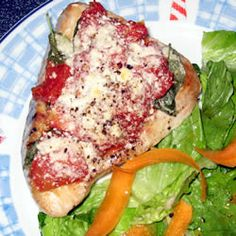 Basil-Tomato Tuna Steaks Allrecipes.com