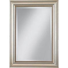"Uttermost Stuart Silver Leaf 36 3/4"" High Wall Mirror - Style # M9853"