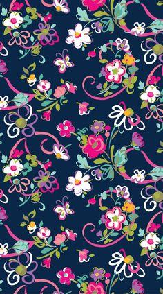 Papeis de paredes floridos são os mais lindos. Mais