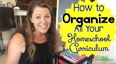 How to Organize All Your Homeschool Curriculum: 5 Systems to Help Your Homeschool Run Smoother by Raising Clovers - You are going to  LOVE this post! I go through the 5 different systems that I use to organize my ENTIRE homeschool year! These 5 systems have helped our homeschool run so much smoother! My older kids use this system to work independently (making it easier for me to work with my pre-readers & toddlers). I hope this post blesses your family! https://www.youtube.com/watch?v=mq9NNK...