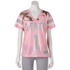 Women's Realtree Mississippi State Bulldogs Game Day Jersey, Size: Medium, Pink