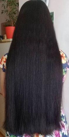 Long Black Hair, Very Long Hair, Dark Hair, Indian Long Hair Braid, Braids For Long Hair, Loose Hairstyles, Indian Hairstyles, Beautiful Long Hair, Gorgeous Hair