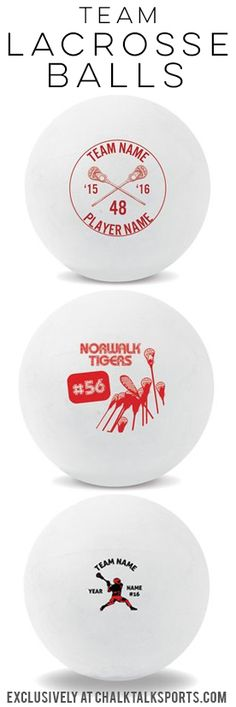 Our custom lacrosse balls are a great way to finish off a great lacrosse season! Treat your team to something they will cherish!