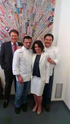 On stage with Chef: Mrs. #MirianaVerga‬  Director of Sales & Marketing and Mr. #AndreaLuri General Manager of CastaDiva Resort & Spa. #chef‬   #cucina   #cucinaitaliana   #italianchef‬ #madeinitaly   #gourmet‬   #cuisine   #italy   #lakecomo   #luxury   #chefesposito   #gennaroesposito‬   #massimilianomandozzi   #chefmandozzi   #michelin‬   #starmichelin   #italia