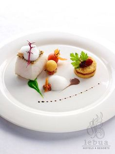 Crystal excels at culinary art. Expect the finest fare onboard every cruise. Michelin Star Food, Molecular Gastronomy, Culinary Arts, Food Plating, Plating Ideas, Food Design, Art Design, Creative Food, Food Presentation