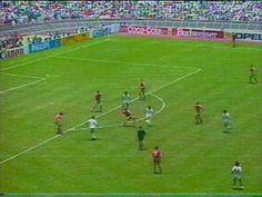 Mexico VS Bulgaria Gol de tijera de Manuel Negrete Mexico 86 - YouTube