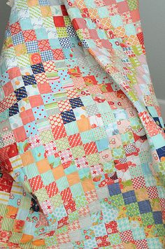 Pattern for Scrappy Trips is found under the free patterns tab at the top of my blog at http://quiltville.blogspot.com <3
