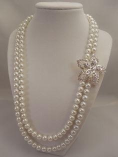 Very Lovely and Elegant White Glass