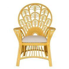 Moderne Maru Peacock High Back Chair NEW
