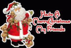 Techsatish Team Wishing You All A Merry Christmas Merry Christmas Images, Christmas Pictures, Christmas Crafts, Christmas Ornaments, Gifs, Santa Sleigh, Winter Pictures, Animated Gif, Clip Art