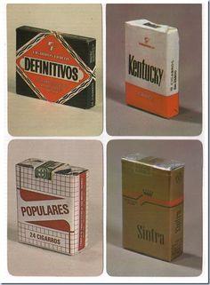 Nunca fui fumador. Os poucos cigarros fumados em adolescente, afastado dos olhares de meus pais, longe de viciarem, criaram-me ... Vintage Advertising Posters, Old Advertisements, Vintage Ads, Vintage Posters, Retro Packaging, Old Scool, Nostalgia, Cigarette Brands, Crazy Man