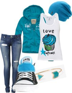 """""""daughter of Poseidon"""" by anastyles Cute Outfits With Jeans, Jean Outfits, Outfits For Teens, Cool Outfits, Fashion Outfits, Percy Jackson Outfits, Daughter Of Poseidon, Fandom Fashion, Fandom Outfits"""