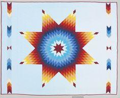 Quilt - 1997 - Nellie Star Boy Menard, Sicangu Lakota (Rosebud Sioux) - National Museum of the American Indian