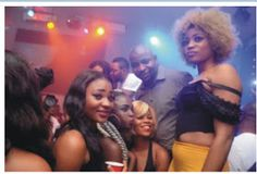 MUST SEE PHOTOS: Lagos girls go braless for NURTW boss