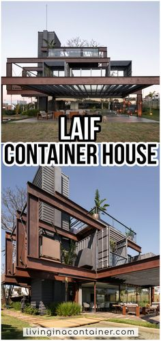 Shipping Container Cabin, Shipping Container Home Designs, Container House Design, Shipping Containers, Building A Container Home, Container Buildings, Container Architecture, Container Houses, Custom Homes