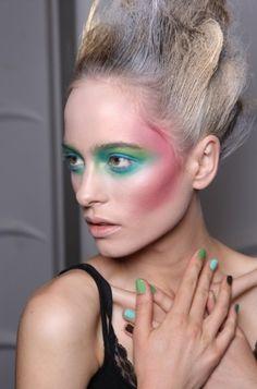 Runway Inspired Makeup Trends for Spring 2012