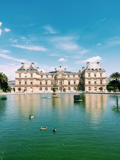 Luxembourg Gardens - Paris, France