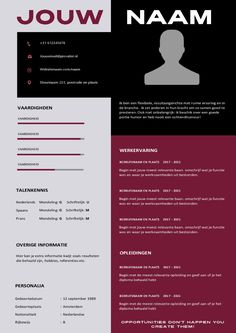 CV Template Unique Creative Resume Templates, Resume Cv, Cv Template, Curriculum, Training, Modern, Design, Seeds