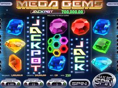 Mega Gem looks more professional than many other gem slots out there. The setting of the reels is against a background that is futuristic, and the graphics are stunning with beautiful gems included on the reels.