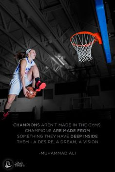Champions aren t made in the gyms champions are made from something