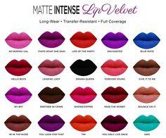 SACHA Matte Intense Lip Colour