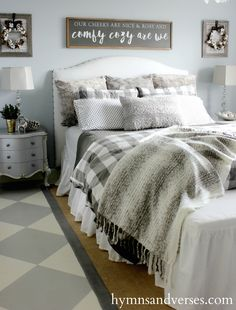 Comfy Cozy Winter Bedroom