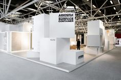 Ariostea surface container at Cersaie 2013 by Marco Porpora, Bologna   Italy exhibit design