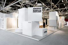 Ariostea surface container at Cersaie 2013 by Marco Porpora, Bologna Italy exhibit design