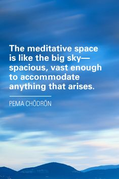 From one of our favorite Buddhist nuns and Sounds True Teacher, Pema Chödrön. Visit to listen and read more of Pema's library of teachings.