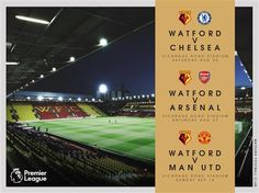 HOME TICKETS: Chelsea, Arsenal & Man Utd - Restricted View Only