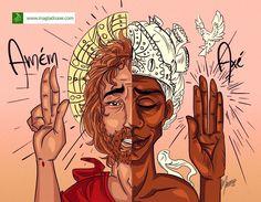 O Cristo e Oxalá