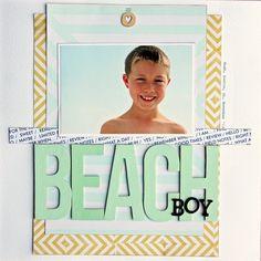 Beach Boy by MandieLou at @studio_calico