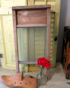 Vintage Washboard Laundry Room Decor Bathroom by oZdOinGItagaiN, $20.00
