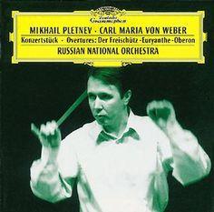 WEBER Konzertstück, Ouvertüren - Pletnev - Deutsche Grammophon