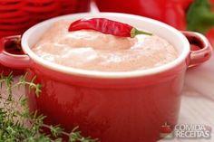Receita de Patê de ricota com pimenta em receitas de molhos e cremes, veja essa…