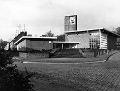 Sionskerk, Arnhem. Architect: M.F. Duintjer, 1963.