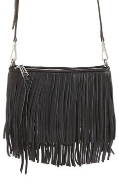 Rebecca Minkoff 'Finn' Convertible Leather Clutch available at #Nordstrom