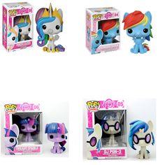 1 шт. Funko POP 4 Стили Мой Милый Прекрасный Небольшой Лошадь пони Кукла Фигурку 9 см Коллекция Модель Игрушка в Подарок аниме модель