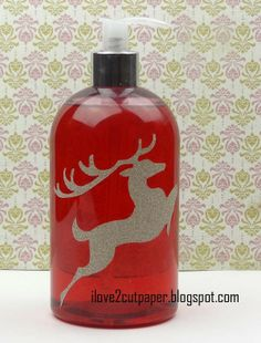 i love 2 cut paper: Festive Soap Container