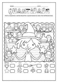 matemática Preschool Writing, Preschool Worksheets, Preschool Activities, Educational Activities For Kids, Work Activities, Childhood Education, Kids Education, Teaching Kids, Kids Learning