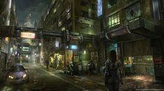 ArtStation - Streets, Alexander Chelyshev