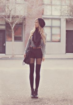 Wish I could pull this look off! It's adorable