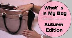 Sweet Life: What's in My Bag - Autunno