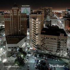 Goodnight from Downtown El Paso. #DTEP #ItsAllGoodep by dwntwnelpaso