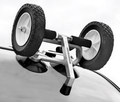 The Rollerloaders' patented design makes it easy for one person to quickly top their vehicle with their favorite kayak without scratching their car. Enables you to easily load your boat without having a permanent attachment on your car or rack.