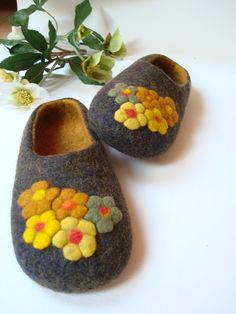 Felted slippers.  Must have.