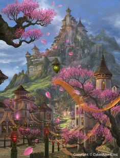 Fantasy city by ucchiey